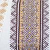 Етнічна жіноча сукня з геометричною вишивкою, фото 4