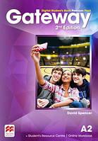 Учебник Gateway 2nd edition A2 Student's Book Premium Pack