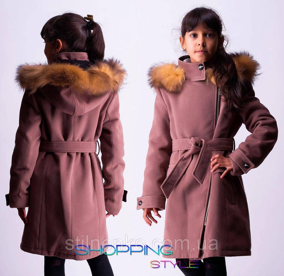 9aeb84822f2a Зимнее пальто для девочки,с натуральным мехом-песец  продажа, цена в  Одессе. ...