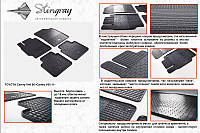 Резиновые коврики Stingray Камри 2013+ (4шт)