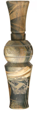 Манок на утку Double Trouble 'Timber' Duck Call Max HD ABS