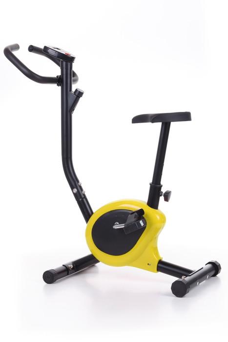Механический велотренажер HS-010H Rio Yellow до 100 кг. Гарантия 24 мес.