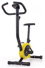 Механический велотренажер HS-010H Rio Yellow до 100 кг. Гарантия 24 мес., фото 3