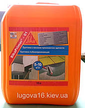 Грунтовка уплотняющая и упрочняющая  минеральные основания Sika Primer-01
