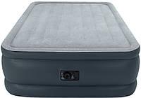 Надувной матрас кровать со встроенным электронасосом Intex 64140