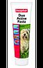 Beaphar Duo Active Pasta for Dogs 100г - двойная мультивитаминная паста для здоровья кишечника (12960)