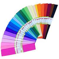 Гофрированная бумага голубая, 50х200см, фото 1