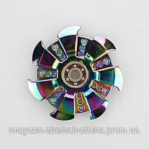 Спиннер металл Радуга T6, фото 2