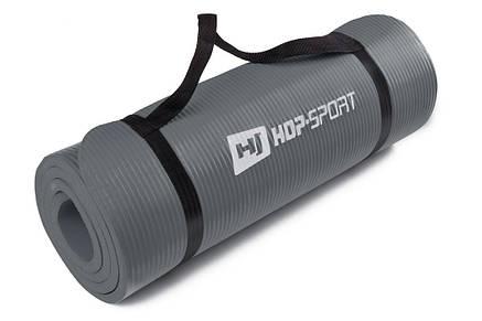 Мат для фитнеса HS-4264 1 см gray, фото 2