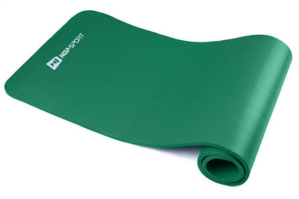 Мат для фитнеса HS-4264 1 см green , фото 2