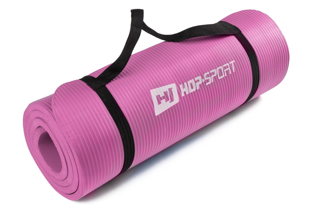 Мат для фитнеса HS-4264 1,5 см pink