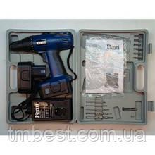 Аккумуляторный шуруповерт Ferm Fas 1800 K2