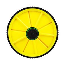 Ролик для пресса Hop-Sport желтый (yellow), фото 2