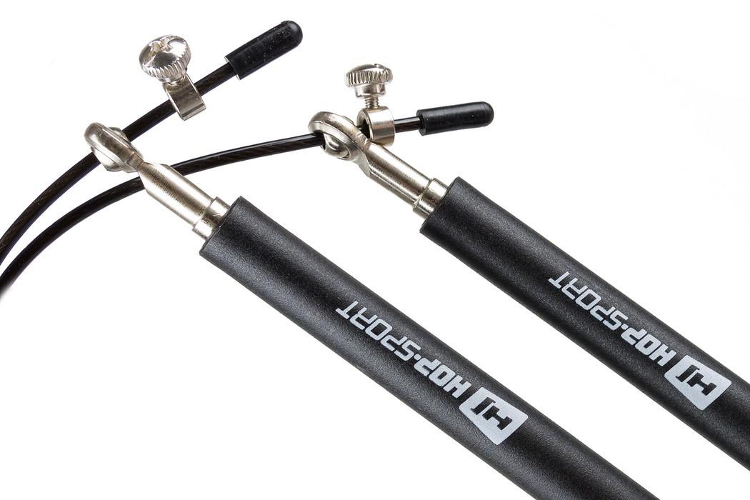 Скакалка Crossfit с пластиковыми ручками