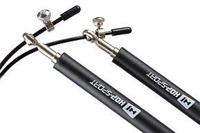 Скакалка Crossfit с пластиковыми ручками , фото 2