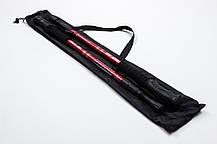 Треккинговые палки регулируемые Everest red, фото 2