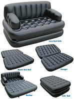 Надувной диван кровать 5 IN 1 SOFA BED Софа Бэд, надувная мебель, 1001859, надувная мебель, надувной диван, надувной диван кровать, надувной диван