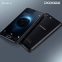 Cмартфон Doogee Shoot 2 1gb\8gb Black Android 7.0. Батарея 3360 mAh