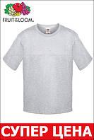 Детская футболка Мягкая для Мальчиков Серо-лиловая Fruit of the loom 61-015-94 7-8