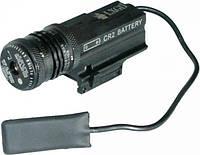 Лазерный целеуказатель LX GD с красной точкой, с быстросъемным креплением 21 мм на планку Weaver