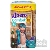 Подгузники детские Libero Comfort Hero Collection 6 12-22 кг 72 шт.