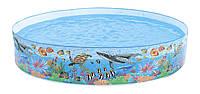 Intex 58472 каркасный детский бассейн 244х46 см