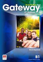 Учебник Gateway 2nd edition B1 Student's Book Pack