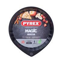 Металлическая круглая форма pyrex magic для пирога 27см (mg27bn6)