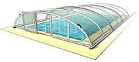 """Раздвижной павильон. Модель """"ABRIS"""" (для бассейна 6,4 х 3,3 м)"""