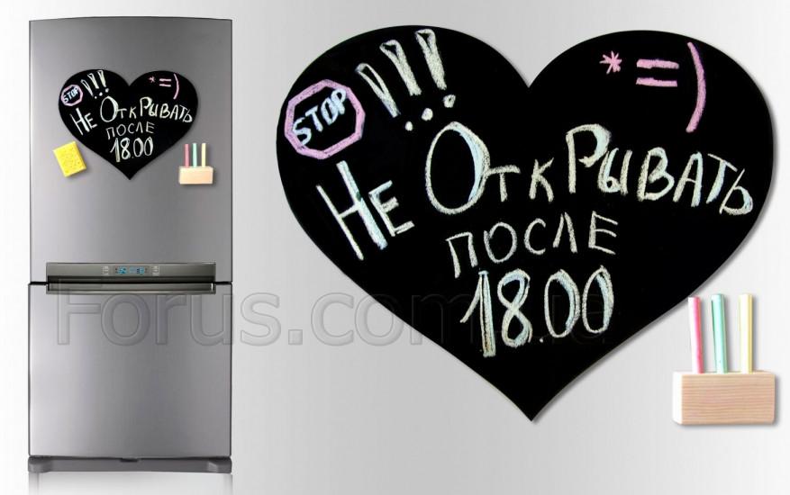 Магнитная доска для мела Love 31*40 см.  - Интернет-магазин подарков TVOYO  в Киеве