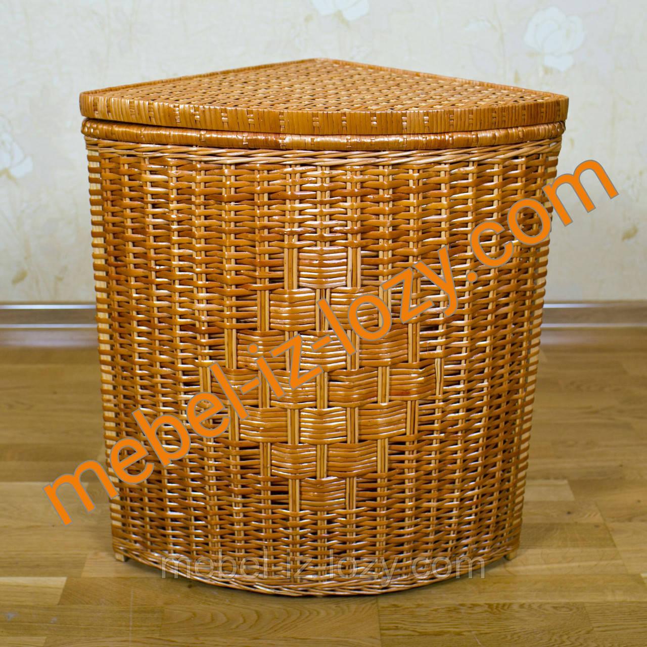 a54e97d95d7f Корзина плетеная для белья