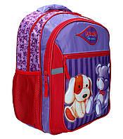 "Ранец-рюкзак ""RAINBOW"" мягкий 2 отделения 7-520"