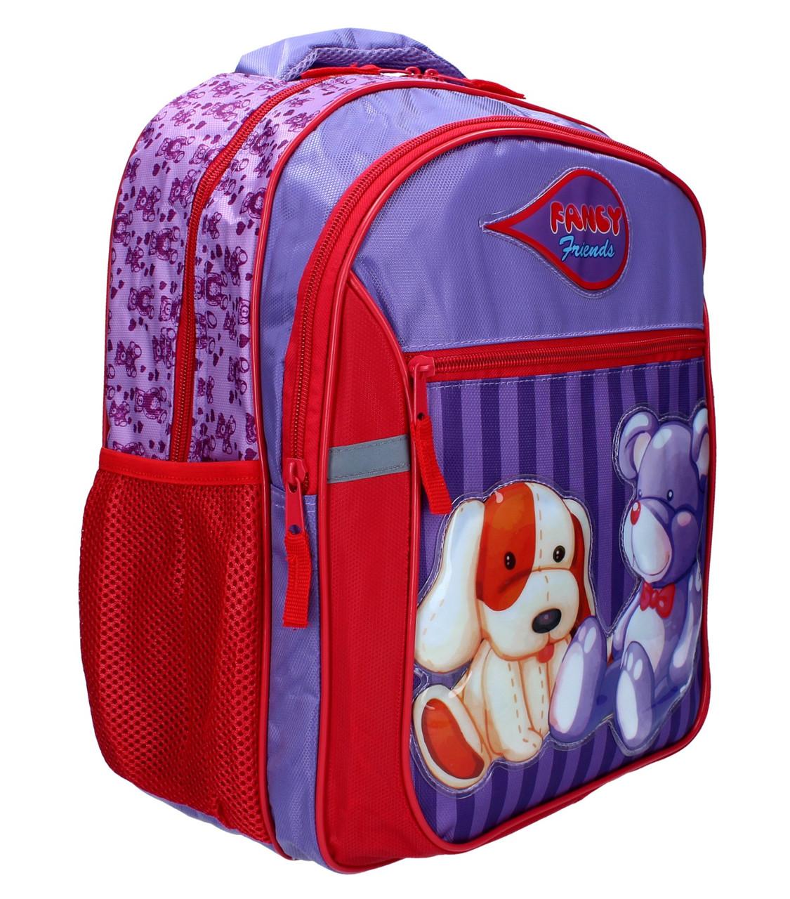 2efe3ef91331 Ранец-рюкзак RAINBOW мягкий 2 отделения 7-520 - Интернет-магазин Kindermir.