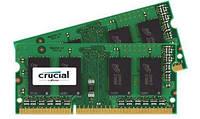 Crucial 8 GB Оперативная память 8GB Kit (2 x 4GB)DDR3 1866 SoDIMM 1.35V CL13