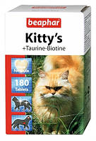 Beaphar Kittys Taurin and Biotin Витамины  для кошек, 180 таб (12578)