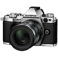 Цифровой фотоаппарат OLYMPUS E-M5 mark II 12-50 Kit silver/black (V207042SE000)