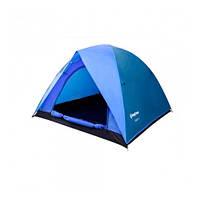Туристическая/кемпинговая палатка трехместная King Camp FAMILY 3 , двухслойная 3-местная
