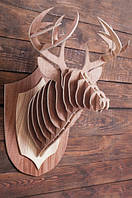Интерьерная голова оленя 3D пазл
