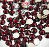 Стразы ss6 без клея Dark Siam (темно-красные) (100шт.) холодной фиксации