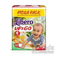 Подгузники-трусики детские Libero Up&Go 4 7-11 кг 62 шт.