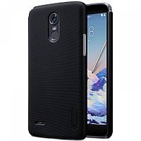 Чехол Nillkin Frosted для LG Stylus 3 / K10 Pro черный (+пленка)