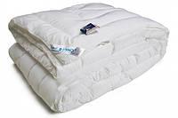 Одеяло из искусственного лебяжьего пуха чехол тик теплое 140х205 см