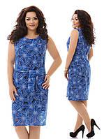 Платье батал 1630 Далас, фото 1