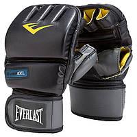 Перчатки снарядные Everlast Evergel Wristwrap Heavy Bag Boxing Gloves
