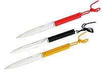 Ножи метательные YF013 (3в1) с чехлом из Кордуры