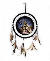 Ловец снов Волк воющий 30 см
