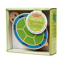 """Деревянная игрушка Melissa&Doug """"Поиграй в прятки с черепашкой"""" (MD4029)"""