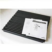 """Комплект заглушек (10шт) 1U 19"""" для шкафа APC Netshelter цвет черный (AR8136BLK)"""