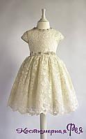 Детское нарядное платье (артикул 2/66)