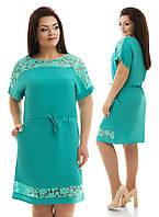 Платье женское батал 721 Далас, фото 1